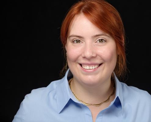 professionelles Bewerbungsfoto einer Frau