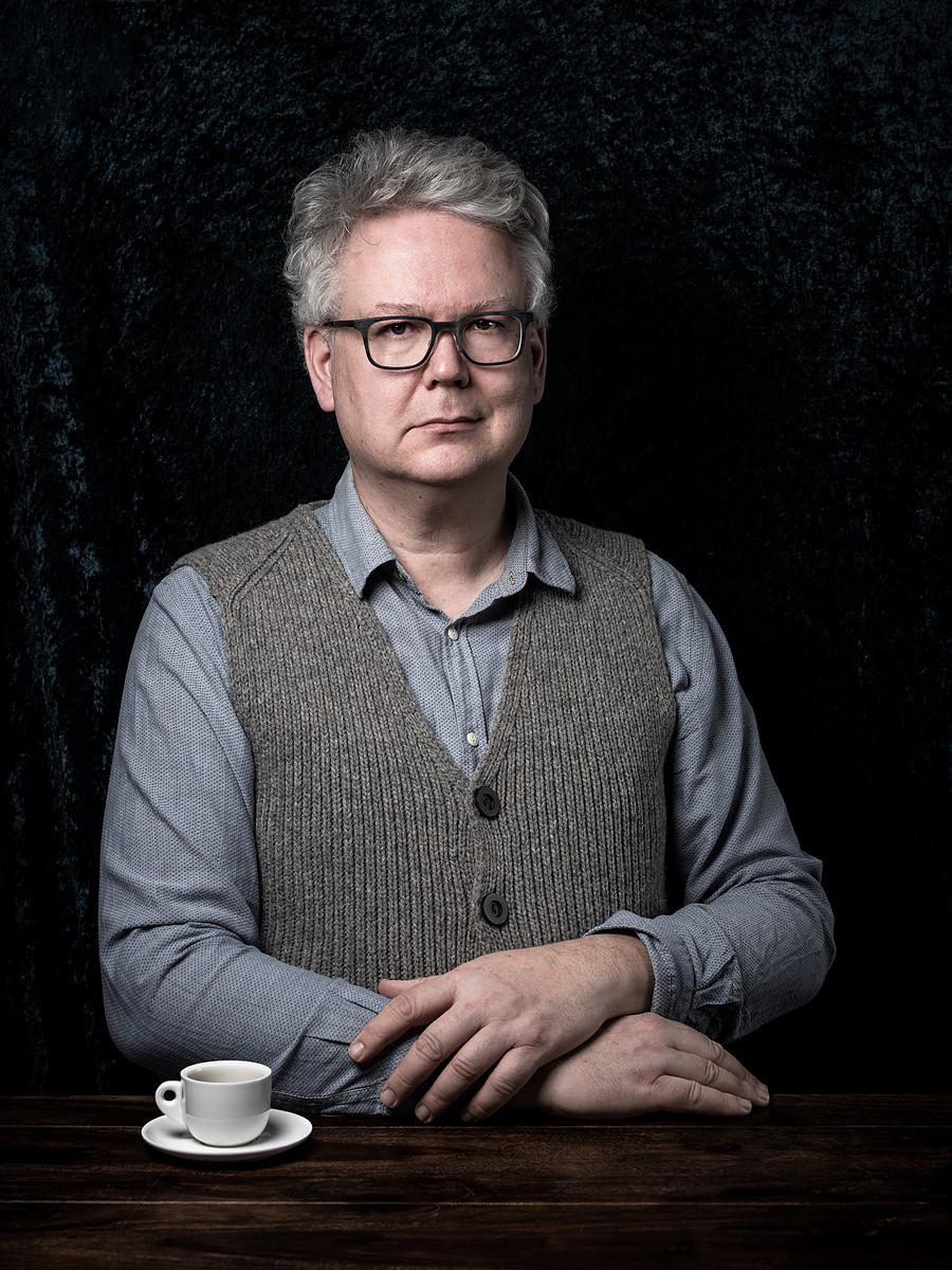 Der Wohlfühlfotograf und portrait-Experte Carsten Plückhahn trinkt gern guten Kaffee