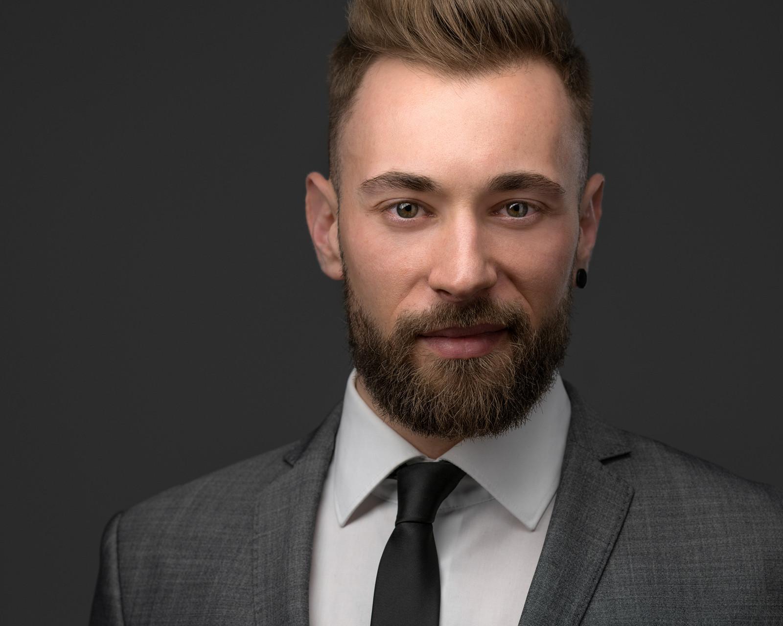 professionelles modernes Bewerbungsfoto Businessportrait