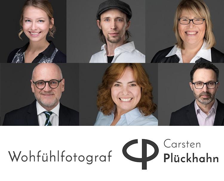 hochwertige premium Bewerbungsfotos Headshots Portraitfotos Businessfotos lächelnd vor grauem Hintergrund